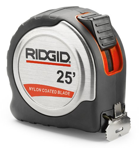 Ridgid 20218 25 Foot Tape Measure 0095691202185