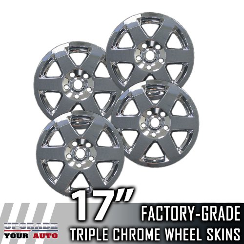 "2008-2010 Jeep Grand Cherokee 17"" Chrome Wheel Skins"