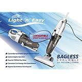 Home Tek Light 'n' Easy LE201 Handheld Bagless Upright Vacuum Cleanerby Light'n'Easy