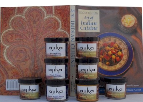 Indian Cuisine Cooking Starter Kit & Gift - Cook