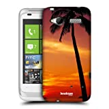 Head Case Under The Red Sky Beautiful Beaches Hard Back Case Cover For Htc Radar