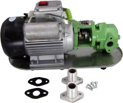WCB30 Mini-Gear Oil Pump 8 gpm 110v AC Steel