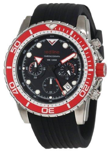 d55753a44f4ac red line Men s RL 50034 01 RD BZ Piston Chronograph Black Dial Watch ...
