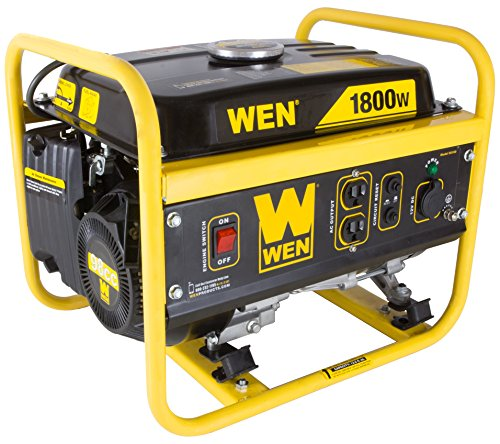WEN 56180, 1500 Running Watts/1800 Starting Watts, Gas Powered Portable Generator, CARB Compliant (Portable Power Generator compare prices)