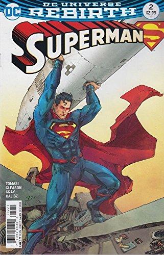 Superman-2016-2-VFNM-Rocafort-Variant-Cover-1st-Printing-DC-Rebirth