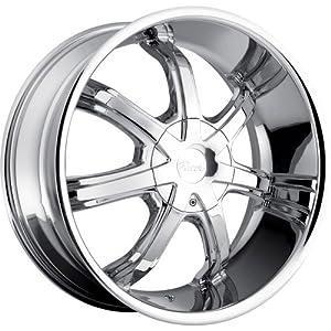 24×9.5 Chrome Wheel Pacer Infiniti 5×4.5 5×4.75