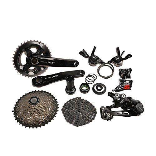 Shimano-Deore-XT-M8000-Conjuntos-de-Bicicleta-Groupset-Grupo-Kit-11-Velocidades-7pcs