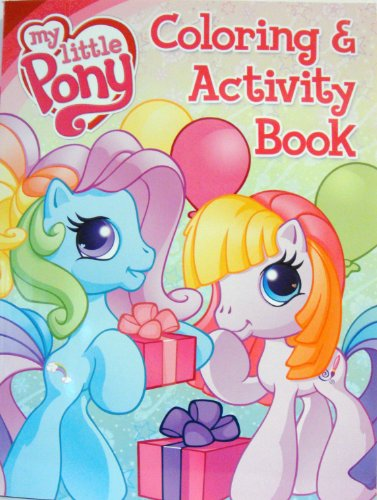 my little pony coloring book. 1 MY LITTLE PONY COLORING