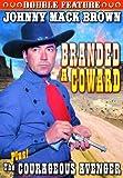 Branded a Coward & Courageous Avenger [DVD] [1935] [Region 1] [NTSC] [US Import]