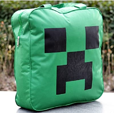 Minecraft Creeper Cool Canvas Shopping Carrying Handbag Shoulder Bag Tote by PARA