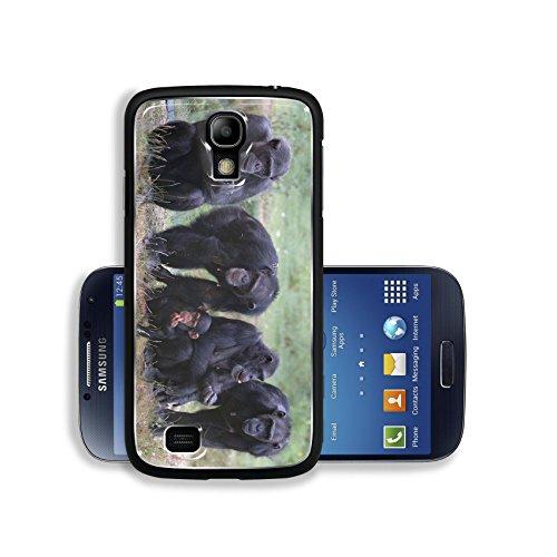 Luxlady Premium Samsung Galaxy S4 Aluminium Snap Case When Monkey s Go Bad IMAGE ID 221188