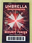 HALLOWEEN COSTUME MOVIE PROP - ID Security Badge Umbrella Corporation (Resident Evil) by Dead Head Props