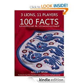 Three Lions, 11 Men, 100 Facts