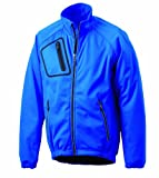 James & Nicholson Herren Softshell Jacket Bike, royal, L, JN334 ry