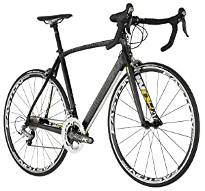 Diamondback 2012 Podium 6 Road Bike (Carbon/Yellow, 56cm)