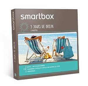 SMARTBOX - Coffret Cadeau - 3 jours de break