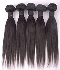 Uniwigs® 16 Inch Straight Natural Color 100% Human Hair Extension Machine Weft for Sale 100g Each Piece Add Length and Volume