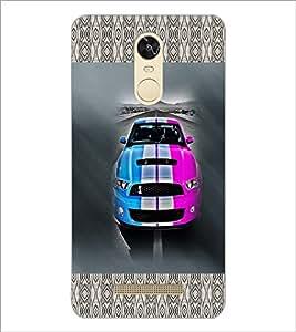 PrintDhaba Car D-2482 Back Case Cover for XIAOMI REDMI NOTE 3 (Multi-Coloured)