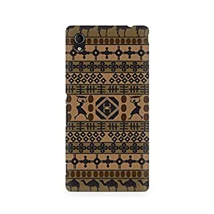 Ebby African Impulse Premium Printed Case For Sony Xperia M4