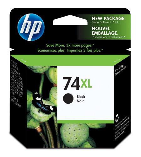 Hp 74Xl Ink Cartridge- Black