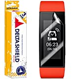 [3-PACK] DeltaShield BodyArmor - Sony SmartBand Talk SWR30 Screen Protector - Premium HD Ultra-Clear Cover Shield w/ Lifetime Replacement - Anti-Bubble & Anti-Fingerprint Military-Grade Film