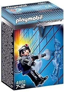 Amazon.com: Playmobil Top Agents 4881 Secret Agent by Playmobil: Toys