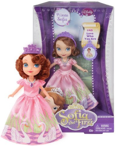 "Princess Sofia Disney 'Sofia The First' ~5"" Doll: #45 Love Who You Are - 1"