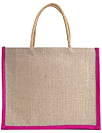 Verdant Globe Eco Friendly Jute Bag,Carry Bag,Travel Bag,Hand Bag, Shopping Bag, Lunch Bag ... - B01GXR7CU4