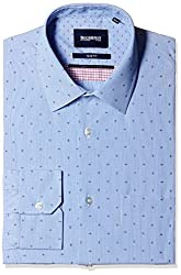 Blackberrys Men's Formal Shirt (8907196543057_MSPTC59UBBN12BPQ_44_Ultramarine)