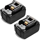 Powerextra™ 2-Pack Replacement for Makita BL1830-2 18V 3.0 Ah Li-ion Battery