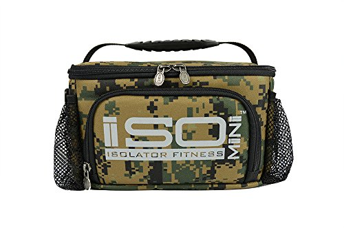 IsoMini Meal Management System-Digital Military Woodland Edition/Insulated Lunch Box/Lunch Bag - 1
