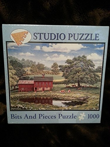 Green Pastures John Sloane 1000 pc Puzzle