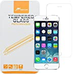 iPhone 6 Tempered Glass Screen, roocase iPhone 6 Glacial Premium Glass Screen Protector for Apple iPhone 6 4.7-inch - Protect from Scratches - 99.9% Clarity and Touchscreen Accuracy [Anti-Scratch / Anti-Fingerprint]