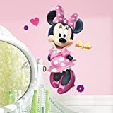 MINNIE MOUSE BOW-TIQUE 40 Giant Wall Decal Boutique Disney Room Decor Stickers