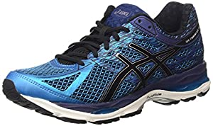 ASICS Gel-Cumulus 17, Men's Training Running Shoes, Blue (Island Blue/Black/Indigo Blue 4090), 8.5 UK (43 1/2 EU)