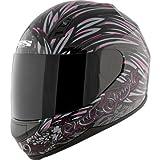 Speed and Strength Womens SS700 To The Nines Helmet - Medium/Black/Pink