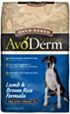 AvoDerm Natural Oven-Baked Lamb and Rice Dry Dog Food, 24-Pound