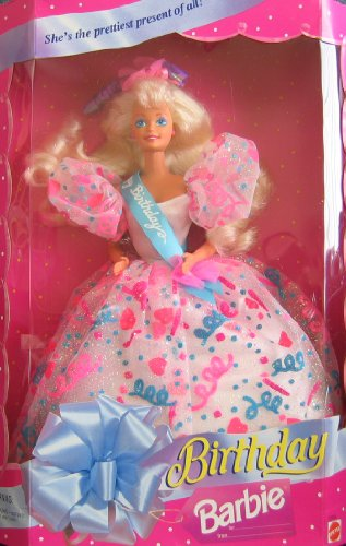 Birthday BARBIE Doll She`s The Prettiest Present of All! (1994)