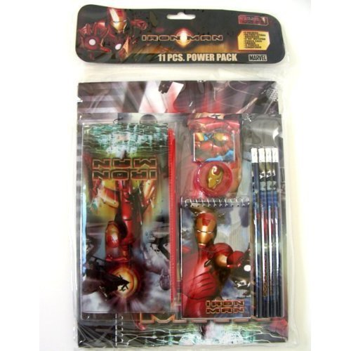 Iron Man 11 Piece Value Pack