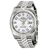 Rolex Datejust Automatic Silver Dial Stainless Steel Mens Watch 116234SBLAO