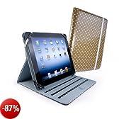Tuff-Luv Slim-Stand custodia di tela cerata per Apple iPad 2 / New iPad (Retina)-
