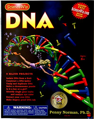 ScienceWiz DNA Experiment Kit , New, Free Shipping