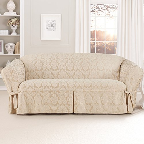 Sure Fit Middleton Sofa Slipcover, Champagne front-792424