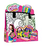 Five Stars 38687 Color me mine! - Bolso de pasarela para colorear, incluye rotuladores [Importado de Alemania]