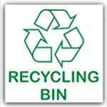 Recycling Bin-Adhesive Sticker-Recycl...