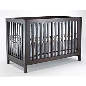City Lights Commuter Convertible Crib Finish: Espresso