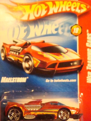 Hot Wheels Maelstrom Red Pr5 Wheels #94 Collector Web Trading Car Issue 2008 1/64