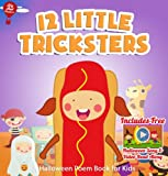 12 Little Tricksters [Halloween Poems Book for Kids] (Big Red Balloon 13)