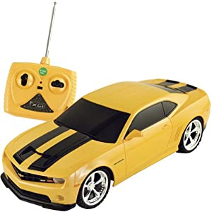 Amazon.com: 1/18 Scale 2011 Chevrolet Camaro RS SS Yellow w/ Black