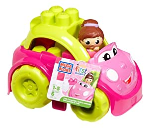 Mega Bloks First Builders Catie Convertible(1)